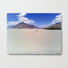 Ladakh Desert Metal Print