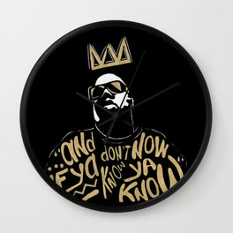 Brooklyn's King Wall Clock