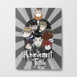 The Achievement Family  Metal Print