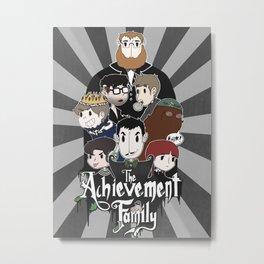 The Achievement Family  Metal Print