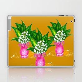 May Lily Painting Laptop & iPad Skin