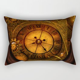 Awesome noble steampunk design Rectangular Pillow