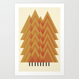 Forest_For_The _Trees Art Print