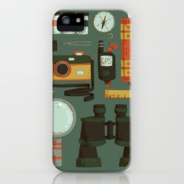 Cryptid Hunting iPhone Case