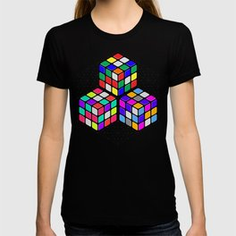 L333 // Rubik's Cube Isometric Illustration T-shirt