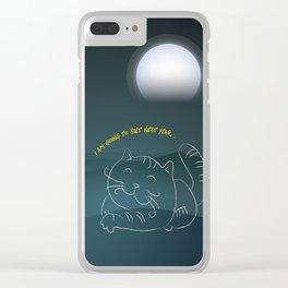Promise - Big Cat Clear iPhone Case