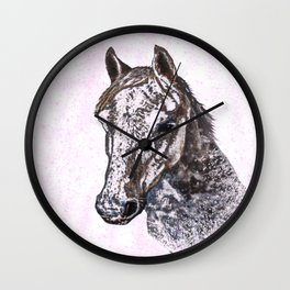 Pretty pony Wall Clock