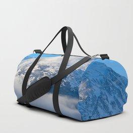 Winter Fog - Turnagain Arm, Alaska Duffle Bag
