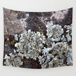 Smattering of Lichens Wall Tapestry