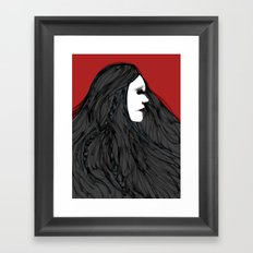 March of The Black Queen Framed Art Print