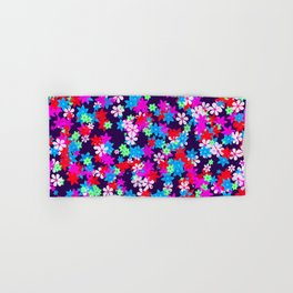 Flower Power Hand & Bath Towel