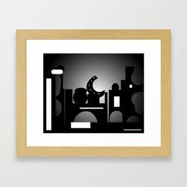 Night Time Bazaar Framed Art Print