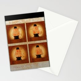 A Moment In Time (Red) Stationery Cards