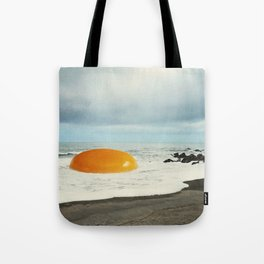 Beach Egg - Sunny side up Tote Bag