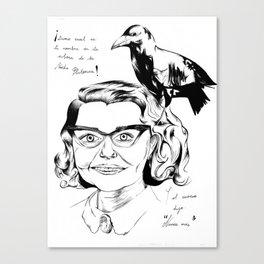 Corvus Corax Canvas Print