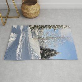 Winter Beauty - Landscape Photography Rug