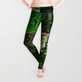 Foliage Patchwork #1 Leggings