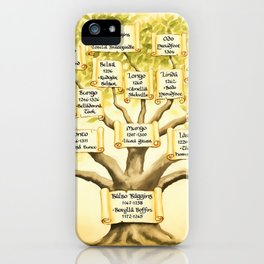 Family Tree iPhone Case