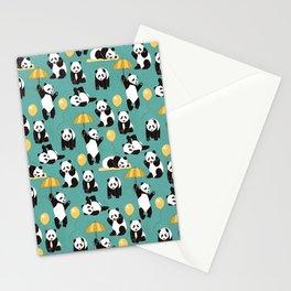 Panda Play Stationery Cards