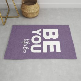 Be-You-Tiful Positive Quote Rug