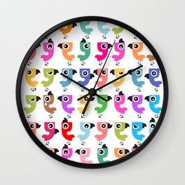 Bird is the Word! Wall Clock