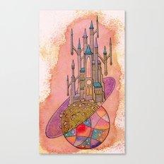 Cosmic Castle Canvas Print