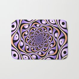 Do Not Roll Your Eyes At Me Bath Mat