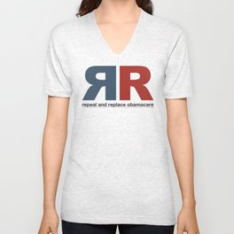 Repeal And Replace Obamacare Unisex V-Neck