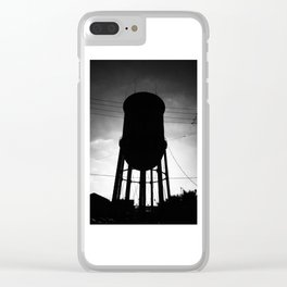 Water Tanker Clear iPhone Case