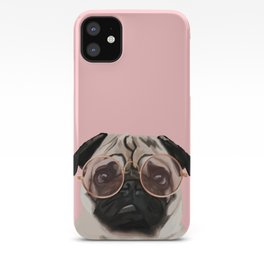 Intellectual Pug iPhone Case