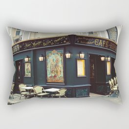 Cafe Culture Rectangular Pillow