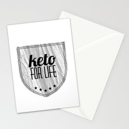Keto for life Stationery Cards