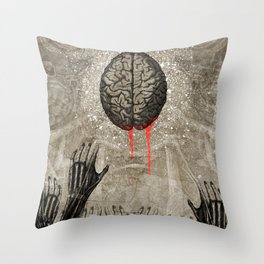 Brains Throw Pillow
