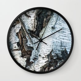Birch 1 Wall Clock