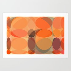 Faded Lights Art Print