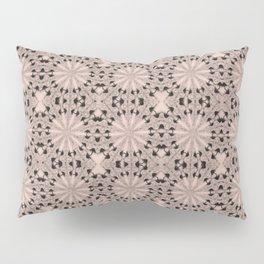 Pale Dogwood Star Pillow Sham