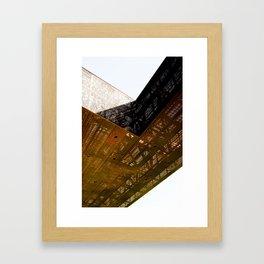 Structure 0801 Framed Art Print