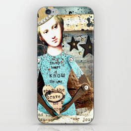 In my Heart I know the Way iPhone Skin