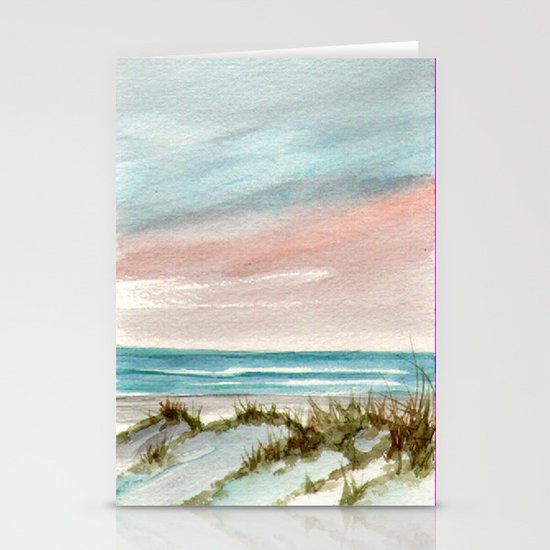 Soothing Sunset Seascape Stationery Cards