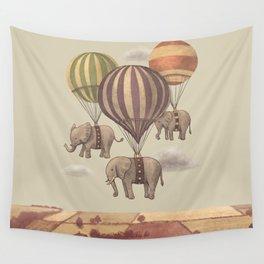Flight of the Elephants  Wall Tapestry