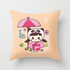 Love Begings Throw Pillow