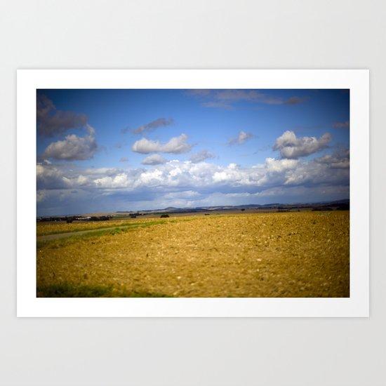 German Countryside Art Print