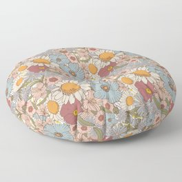 Garden bouquet Floor Pillow