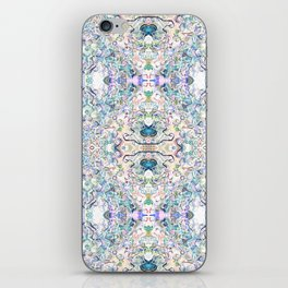 That Butterfly Feeling (White) iPhone Skin