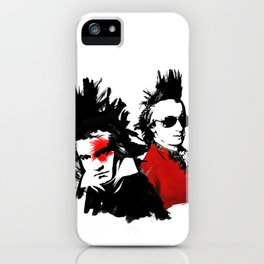 Beethoven Mozart Punk Composers iPhone Case