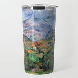 """Paul Cezanne """"Mont Sainte-Victoire"""", c.1890 Travel Mug"""