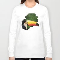 toucan Long Sleeve T-shirts featuring toucan by gazonula