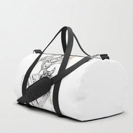 A woman as a sign Taurus Duffle Bag