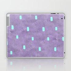 Purple Cute Simple Turquoise Pattern Laptop & iPad Skin