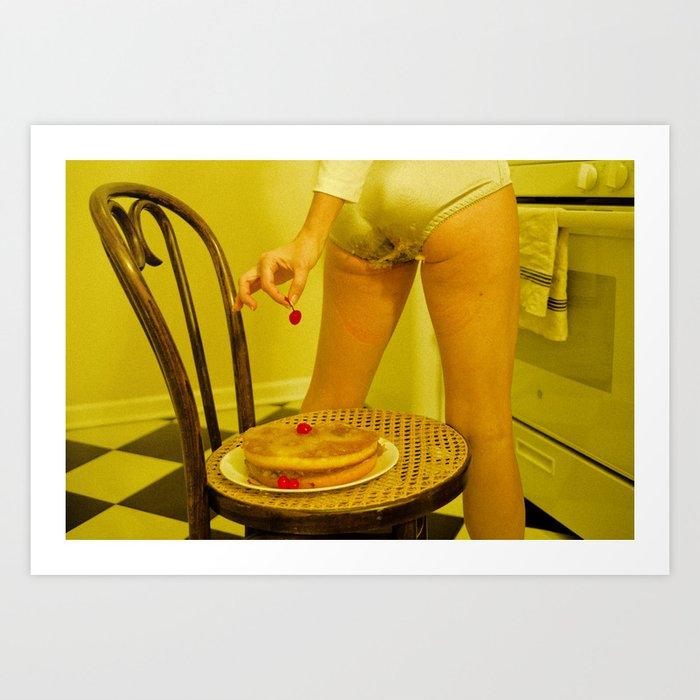 You'll Eat It And You'll Like It- Pineapple Upside Down Cake Art Print